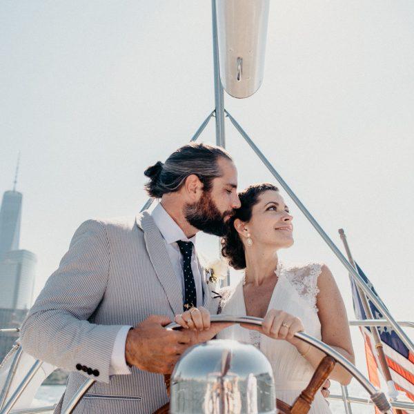 NYC Yacht Wedding- Christina & Eric