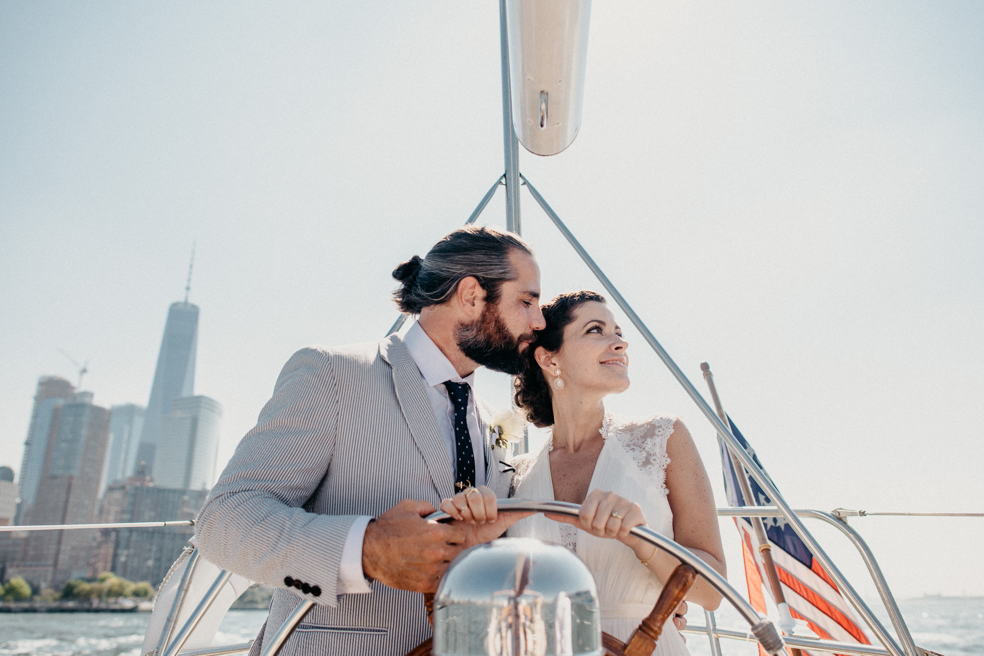 NYC yacht wedding
