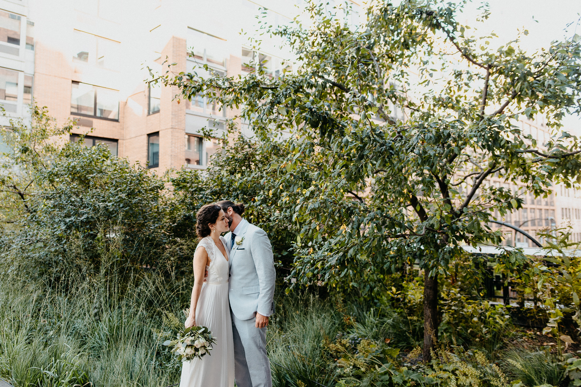 The Highline wedding photos