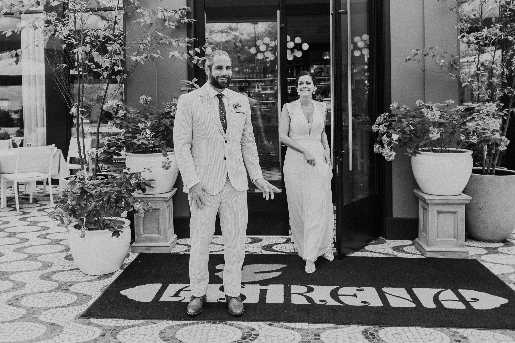 wedding first look manhattan