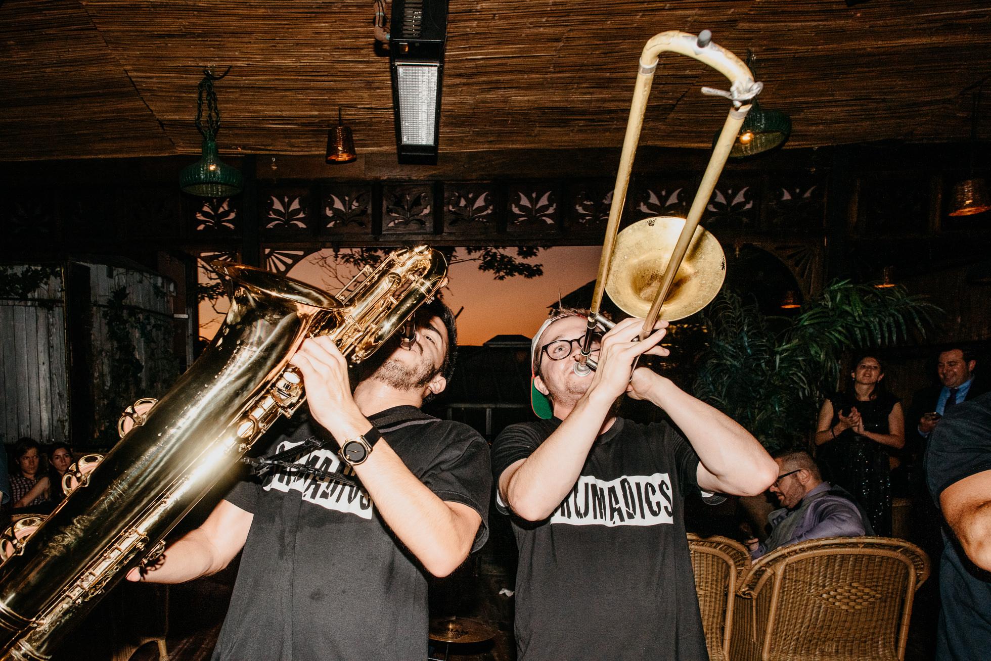 wedding horn players nyc