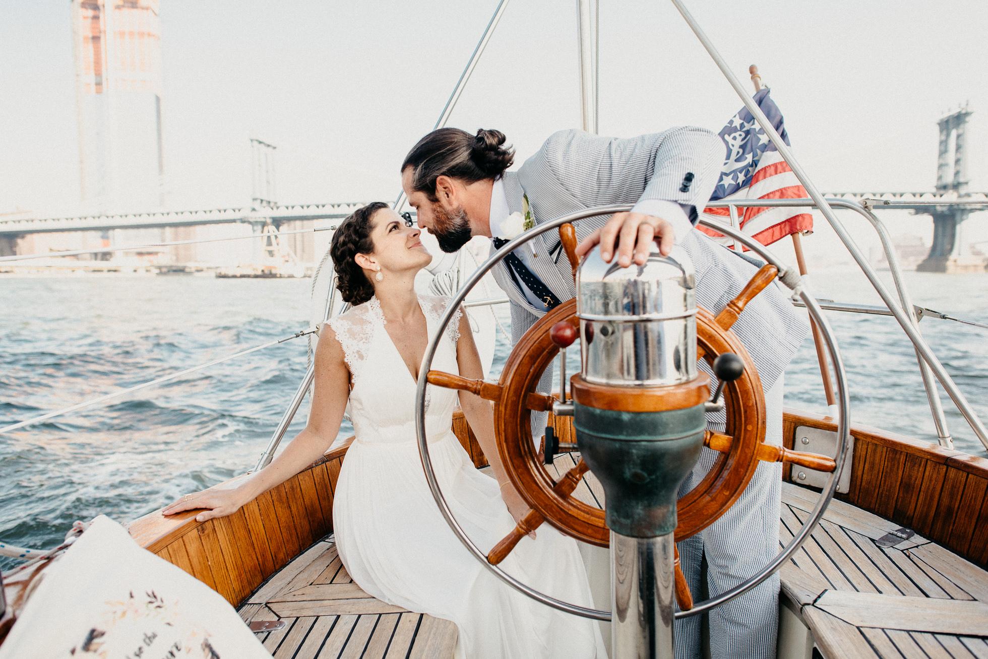 yacht sailing nyc
