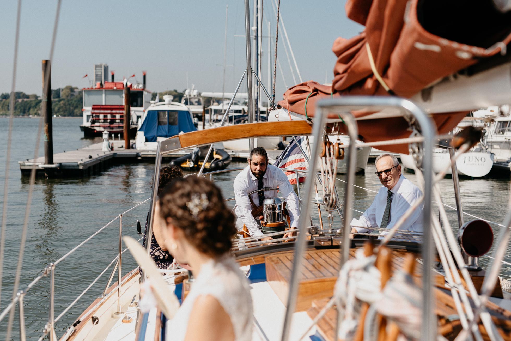 yacht wedding manhattan