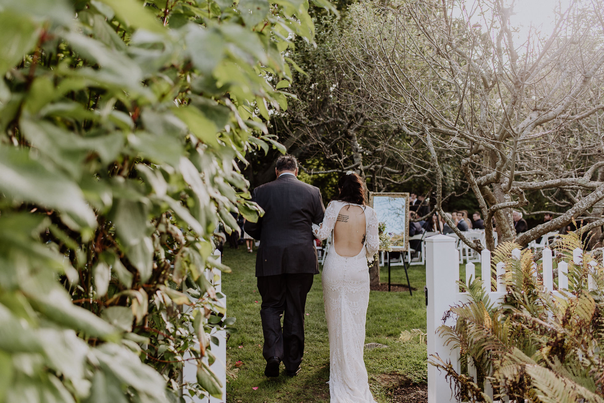Bedell Cellars outdoor wedding