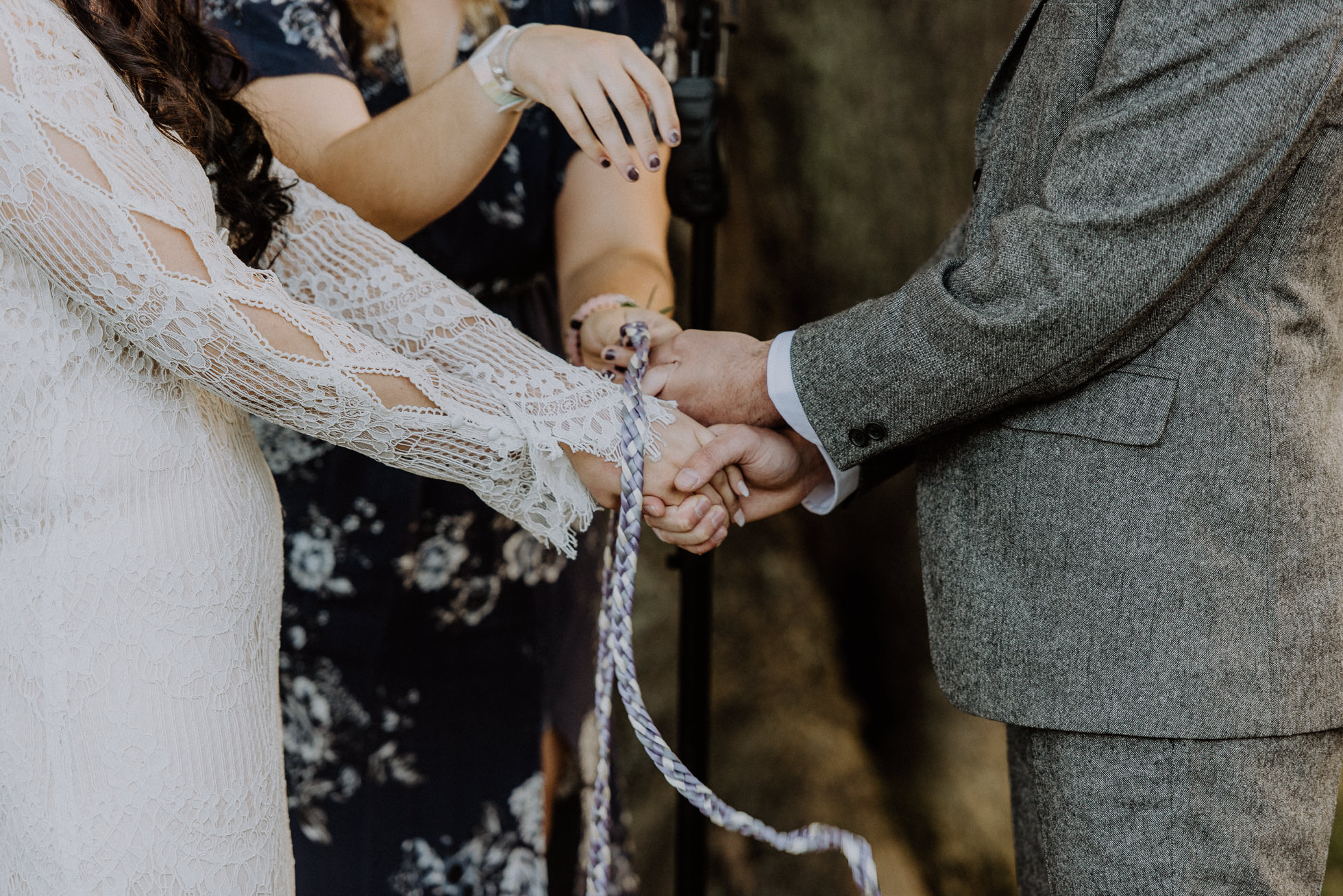 infinity knot wedding ceremony