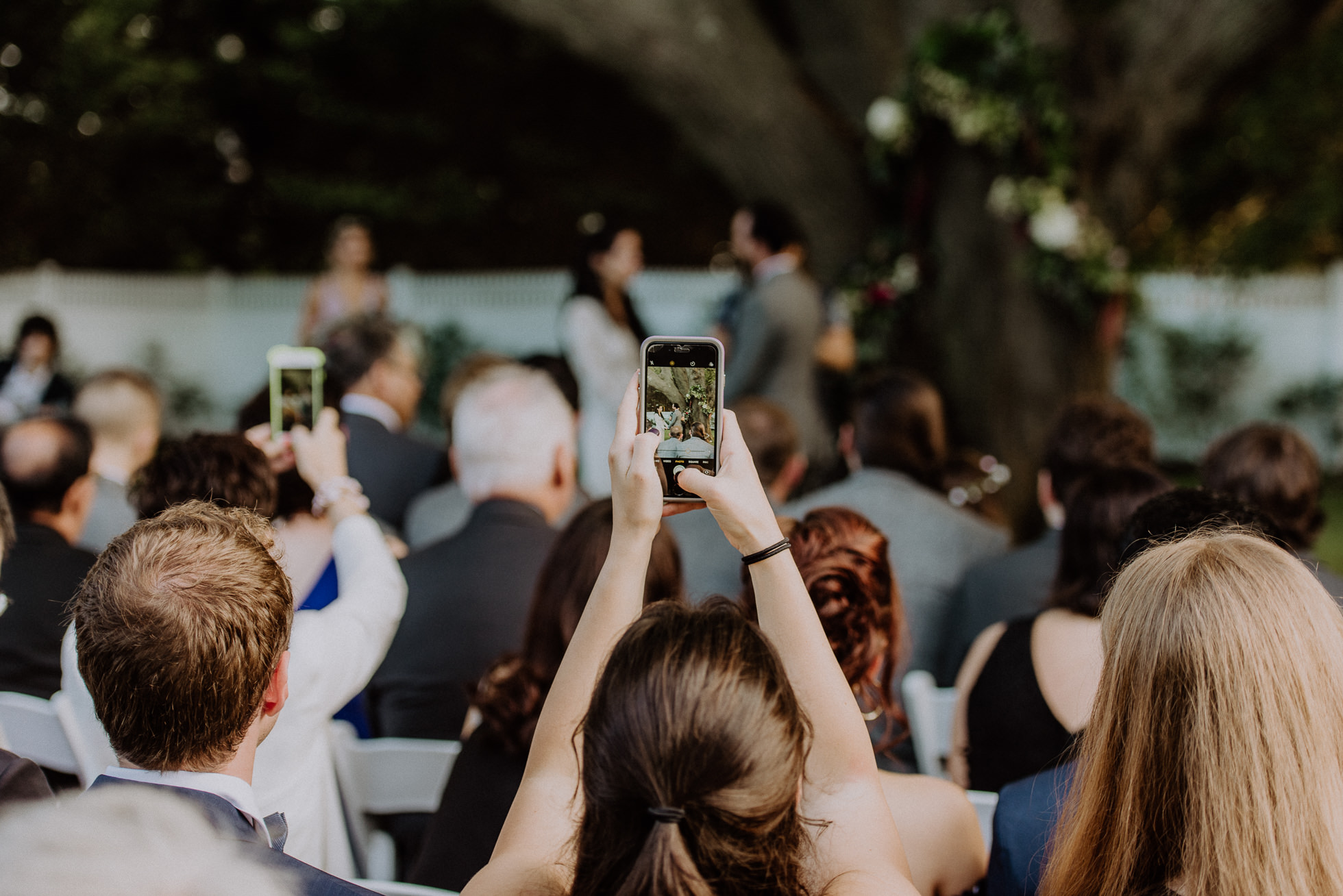 why you should have an unplugged wedding ceremony